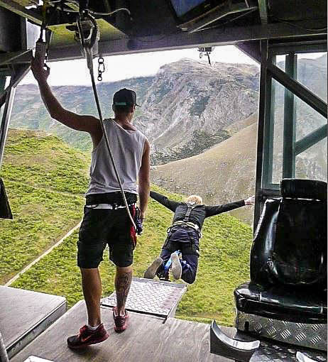 Nevis Bungy & Nevis Swing in Queenstown – Adrenalin pur