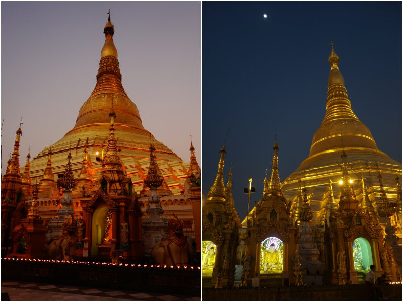 Shwedagon hoch Collage