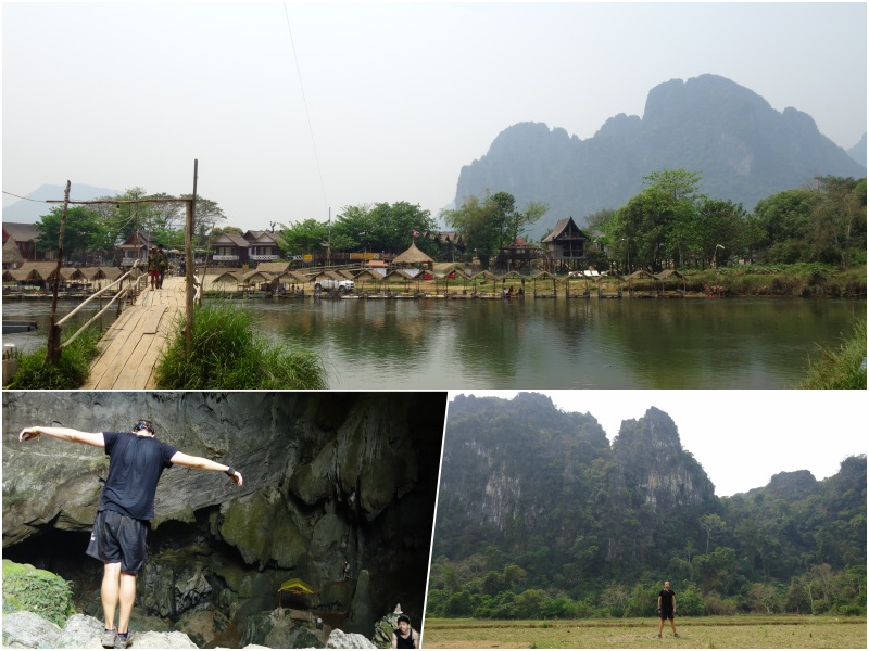 Vang Vieng collage